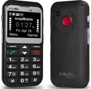 Snapfon ezTWO Free Phones for seniors