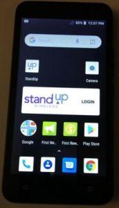 VORTEX SYNC Standup Wireless Phone