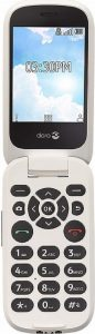 Doro 7050 Consumer Cellular Flip Phones