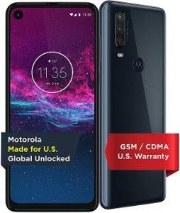 Motorola one action Verizon compatible unlocked phones