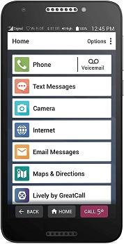 GreatCall Jitterbug Smartphone