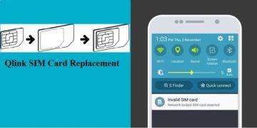 Qlink SIM Card Replacement