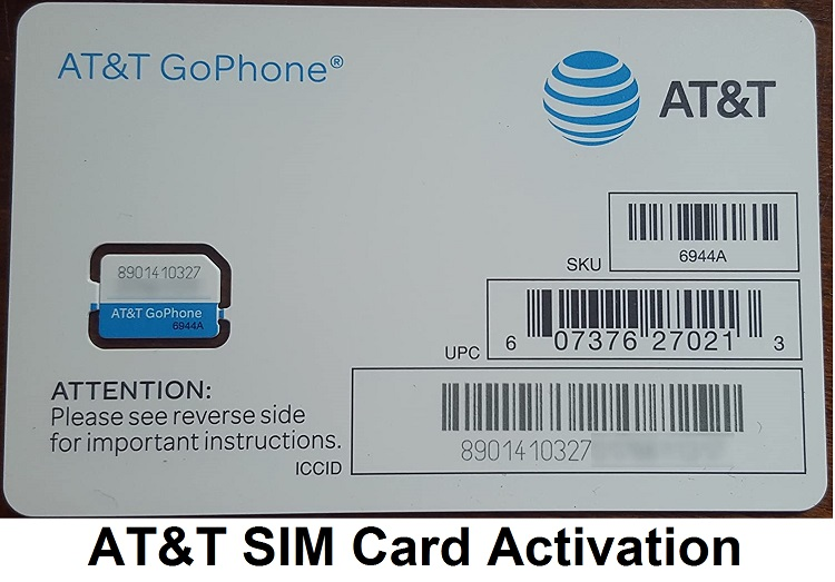 AT&T SIM Card Activation