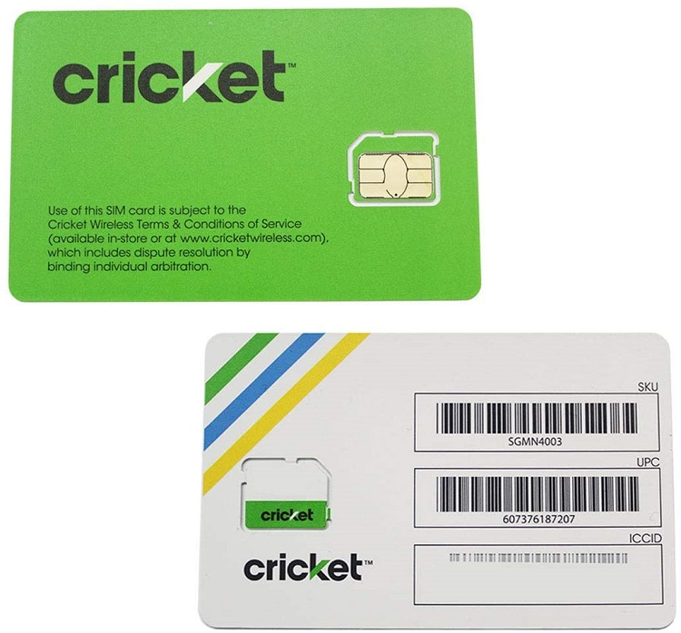 Cricket SIM Card Replacement Guide