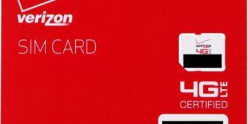 Free Verizon SIM Card