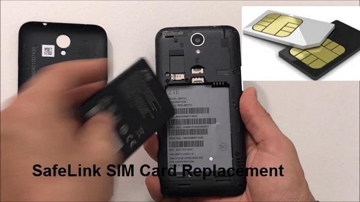 SafeLink SIM Card Replacement