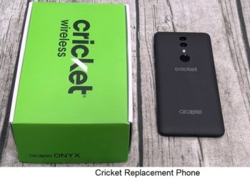 Cricket Replacement Phone