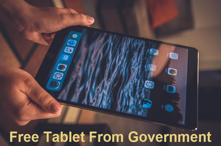 Free Tablet From Government