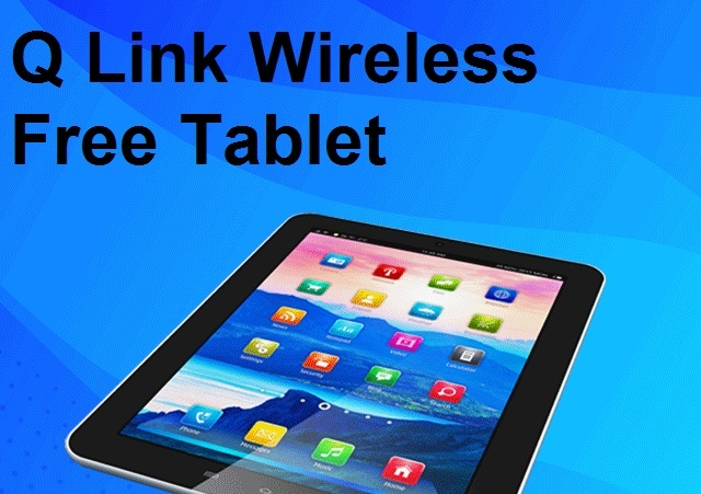 Q Link Wireless Free Tablet