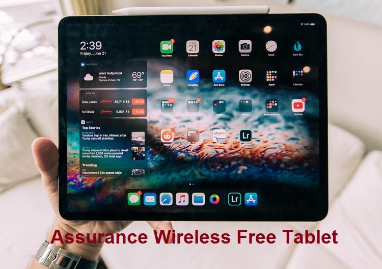 Assurance Wireless Free Tablets