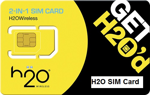 H2O SIM Card
