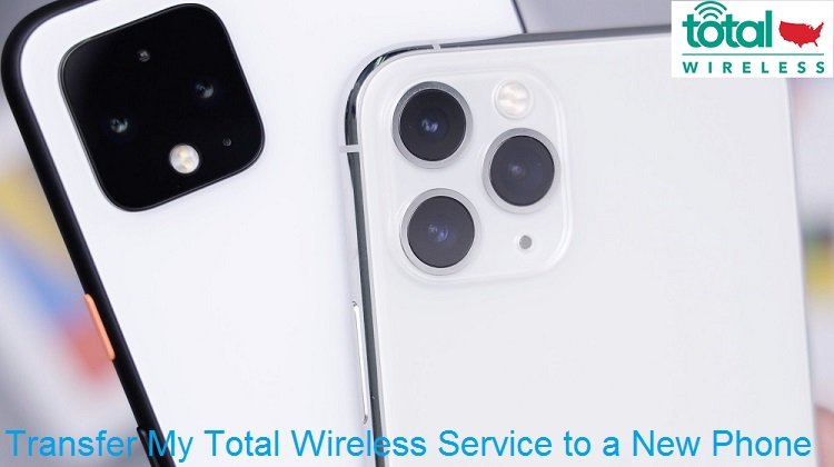 how do i transfer my total wireless service to a new phone